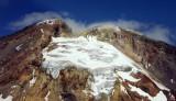 Mt Adams glaicers