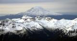 Mt Adams and Ives Tieton peaks