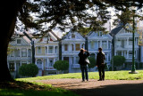 tourists at painted ladies