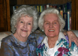 Mom & Aunt Ruth at My House
