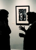 A Chat at The Art Gallery