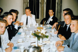 High School Dinner with the Guys - circa 1956-1957
