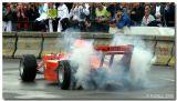 Jos Verstappen in A1 GP car