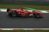 Rubinho Barichello SPA 2005  Belgium