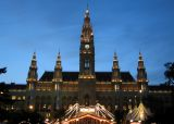 Rathaus in the early evening