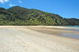 Relatively deserted beach at  Barks Bay