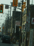 To Many Poles and Wires Here in Toronto