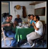 Esmorzant en la Vallcanera Celestina