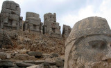 Photos: Mt  Nemrut heads, Perre-Perin, and Diyarbakir