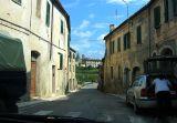 Driving through a small town