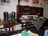 Breakfast at  Borgo Grondaie hotel next morn'