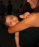 Tala at end of her <a href=http://tinyurl.com/y7y96w target=_blank>party</a>