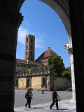 Entrance of Cathedral of San Martino
