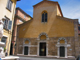 A smaller church in Lucca