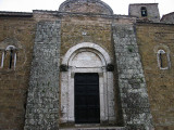 Sovena Cathedral's main entrance