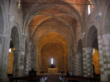 Sovena Cathedral's central nave.  Flash On