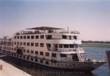 Ons cruise-schip de Nile Treasure / Our cruise-ship the Nile Treasure.