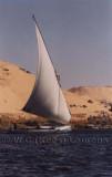 Felucca tocht over de Nijl