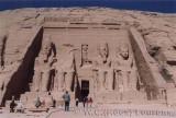Tempel van Nefertari in Abu Simbel / Temple of Nefertari in Abu Simbel.
