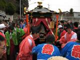 Sacred mikoshi