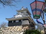 Hanami lantern and Hamamatsu-jō