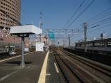 Rail lines at Hamamatsu station