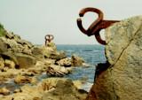 Sculpture on the rocks