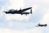 Lancaster and Hurricane