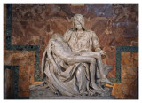 Michelangelo's Piéta, Basilica San Pietro, Vaticano