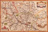 oude kaart uit 1631 met Nieuwstadt