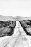 Long roads in the desert