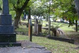 Grafton Gully part of the graveyard