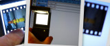 Slide viewer / LCD brightness test.