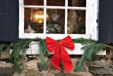 Blue Shutter Christmas