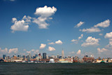 Summer Day View of Midtown Manhattan