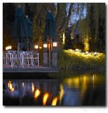 Pond at Night