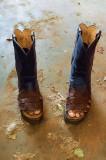 Roman Sandal Cowboy Boots