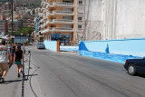 La chicane vers le port
