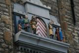 Ornament at the townhall - Versiering aan de zijgevel van het stadhuis