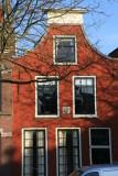 Facade of   a house called het Anker ( the anchor)