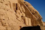 Giant statues of Ramses II