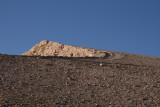 Artificial mountain that  covers the temples now. - Kunstmatige berg die de tempels nu bedekt.