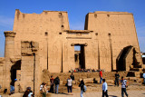 One of the two pilons of the Edfu temples