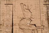 Horus the falcon-god