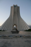 Borj-e Zadi, monument of freedom - monument van de vrijheid