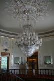 Interior of the Glassware museum  - Interieur van het Glasmuseum