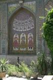Glazed Tile Tableau at Naranjestan Garden