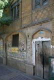 an old facade somewhere in Shiraz