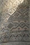 Decorative patterns on the brickstone towers of Karim Khan fortress