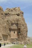 The tomb of  Darius II.